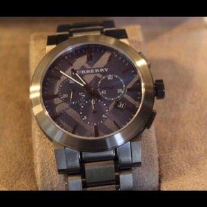 Burberry Chronograph Men's Watch